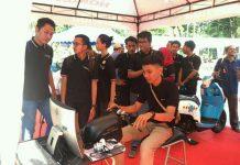 MPM Ajak Warga Cari_Aman dalam Honda Safety Riding Kelana Kota Surabaya