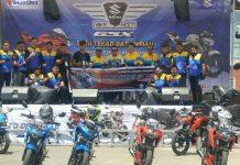 Suzuki Bike Meet 2017 perdana di Manado