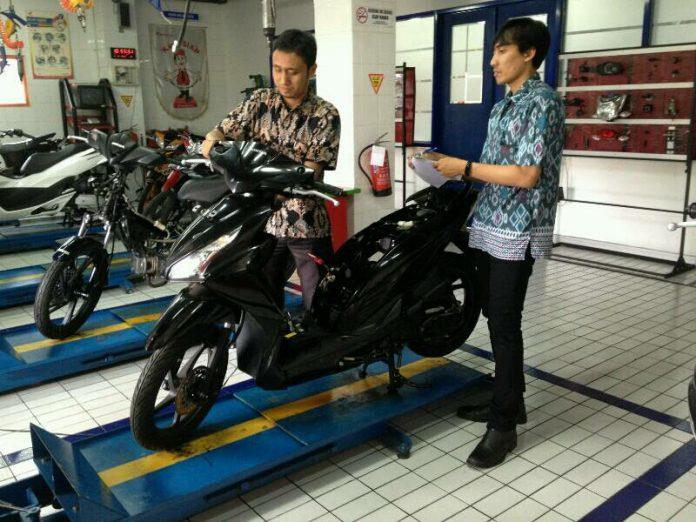 Wahana Honda Menguji Kompetensi Guru SMK Binaan