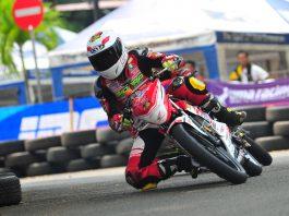Dua pembalap Honda Daya Trijaya