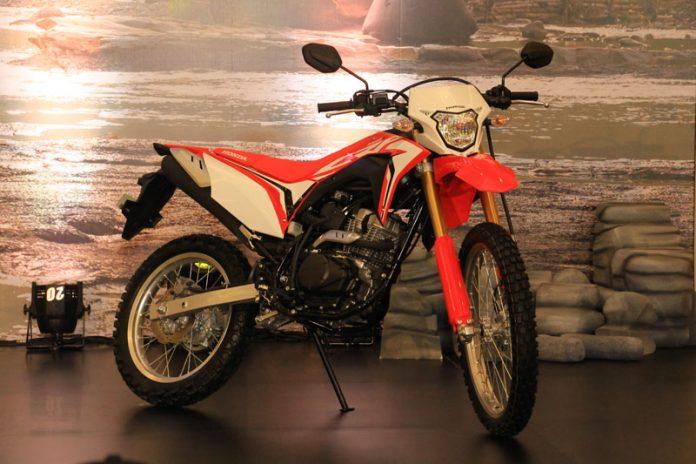 Modal Honda CRF150L