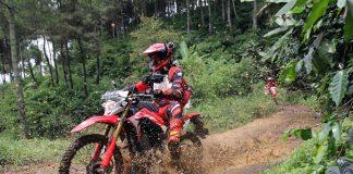 Rekaman Lensa Ketangguhan Honda CRF150L Melahap Bukit Moko