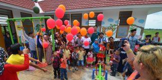 Dua PAUD Dibangun Yayasan Wahana Artha di Tangerang