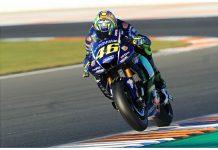 Rossi Menjajal Yamaha M1 MotoGP 2018