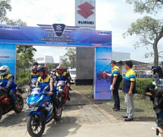 Suzuki bike meet 2017 batam