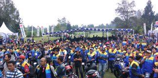Suzuki Bike Meet 2017 Cibodas Manjakan Ribuan Bikers