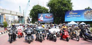 Artis Motorbaik Sukses Menggoyang Palembang
