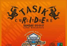 Dikepung Motoris di Tasik Culture Ride