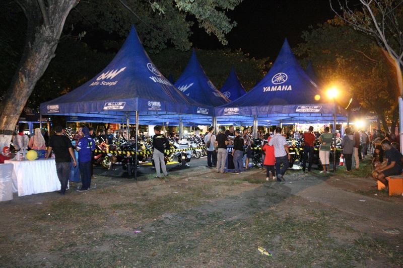 Yamaha CustoMAXI 2017 Area Sumatera Utara Berlangsung di Plaza Fair Medan