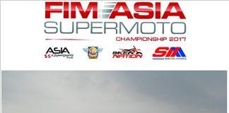 Trakarn Thangthong Juara FIM Asia Supermoto Championship 2017