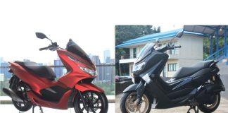 Yamaha NMax 155 dan Honda PCX 150