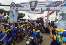 Suzuki Bike Meet 2017 Banjarmasin Gaungkan Budaya Peduli Sosial