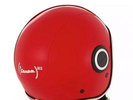Helm Vespa Red dan Sei Giorno