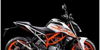 KTM 390 Duke Tersedia Dalam Warna Putih