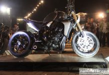 Motor Pintar Karya White Collar Bike