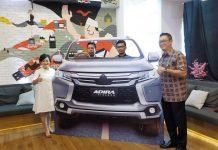 Nasabah Adira Finance Kelapa Gading Memenangkan Mitsubishi