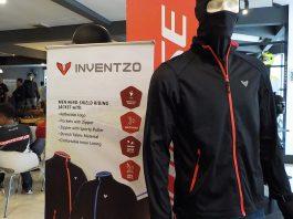 Produk Jaket Untuk Pemotor Inventzo Diperkenalkan di Jakarta
