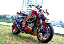 Ducati Street Fighter 848 2013 Menjadi Ironman