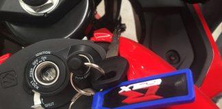 GSX-R150 Shuttered Key