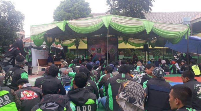 Kopdar Akbar Ojek Online Jakarta Timur Bersama 3 Pilar