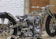 Motor Custom Stainless Steel Krom Works Juga Akan Tampil di MBE Verona