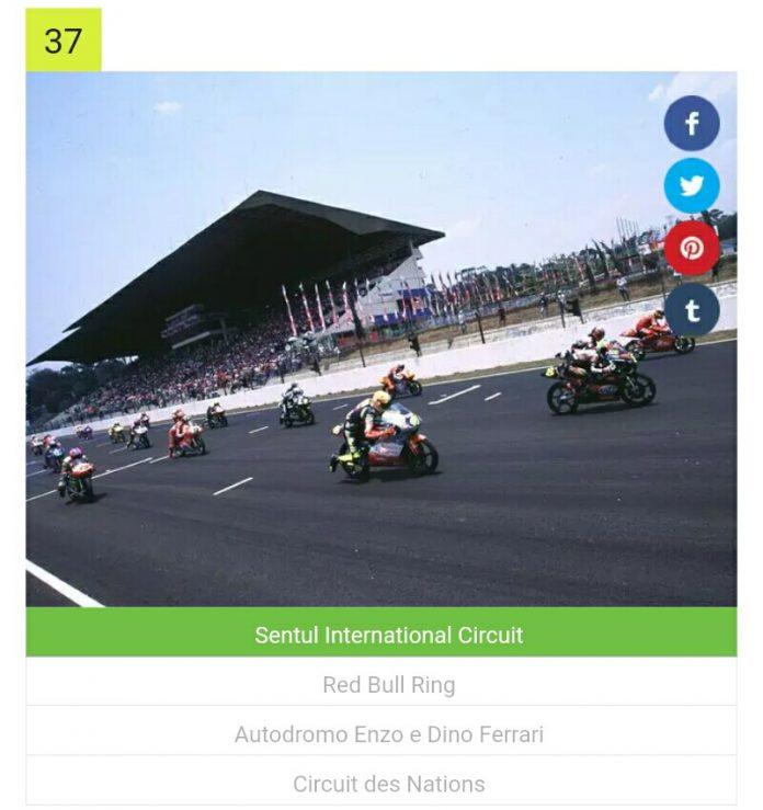 Hanya 3 persen Penggemar MotoGP Mengenali 71 Sirkuit