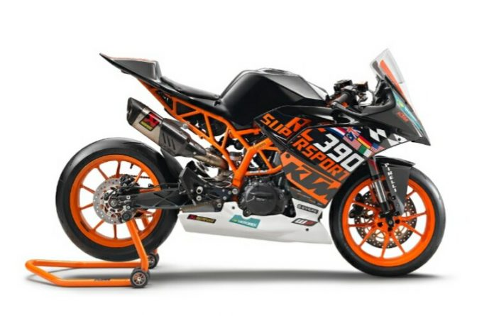 Race Kit Supersport300 KTM RC390R