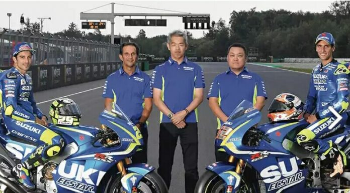 Tes Privat Tim Suzuki MotoGP di Sepang