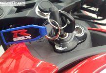 GSX-R150 Model Shuttered Key