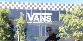 Motor Vans masuk kandang