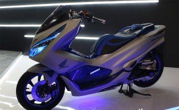 modifikasi Honda PCX Futuristic Techno