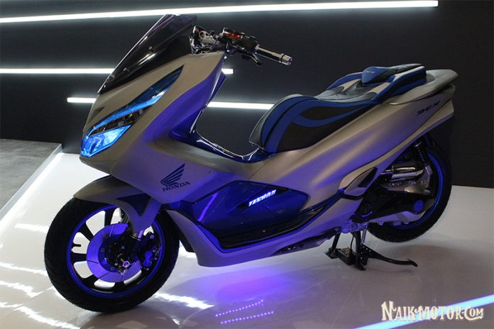 modifikasi Honda PCX Futuristic Techno