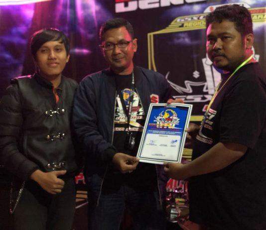 Deklarasi GSX Club Indonesia Chapter Sukabumi