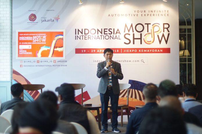 brand motor di IIMS 2018