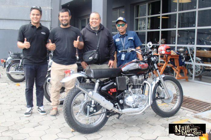 Trial Scrambler DGS Garage Bandung