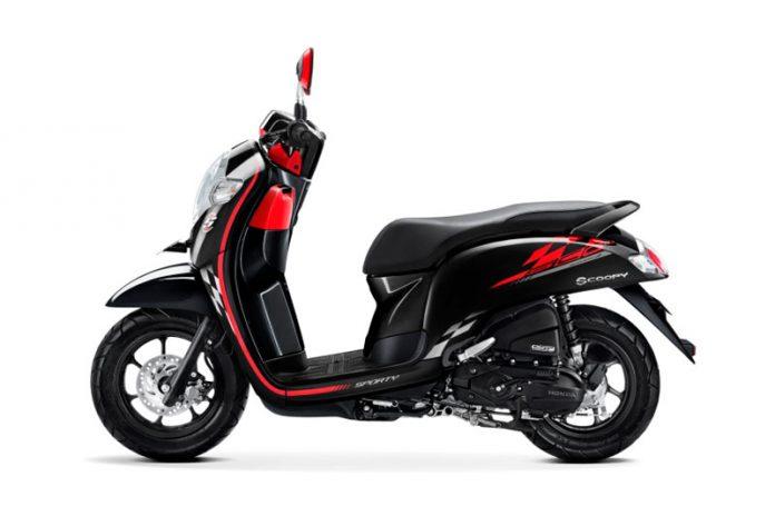 New Honda Scoopy Disiram 7 Warna Baru