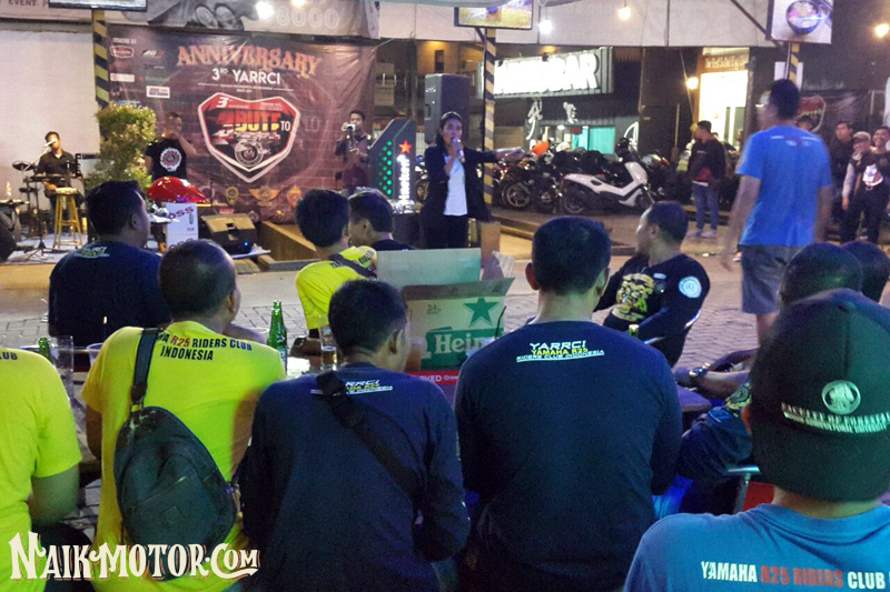 HUT ke-3 Yamaha R25 Riders Club Indonesia