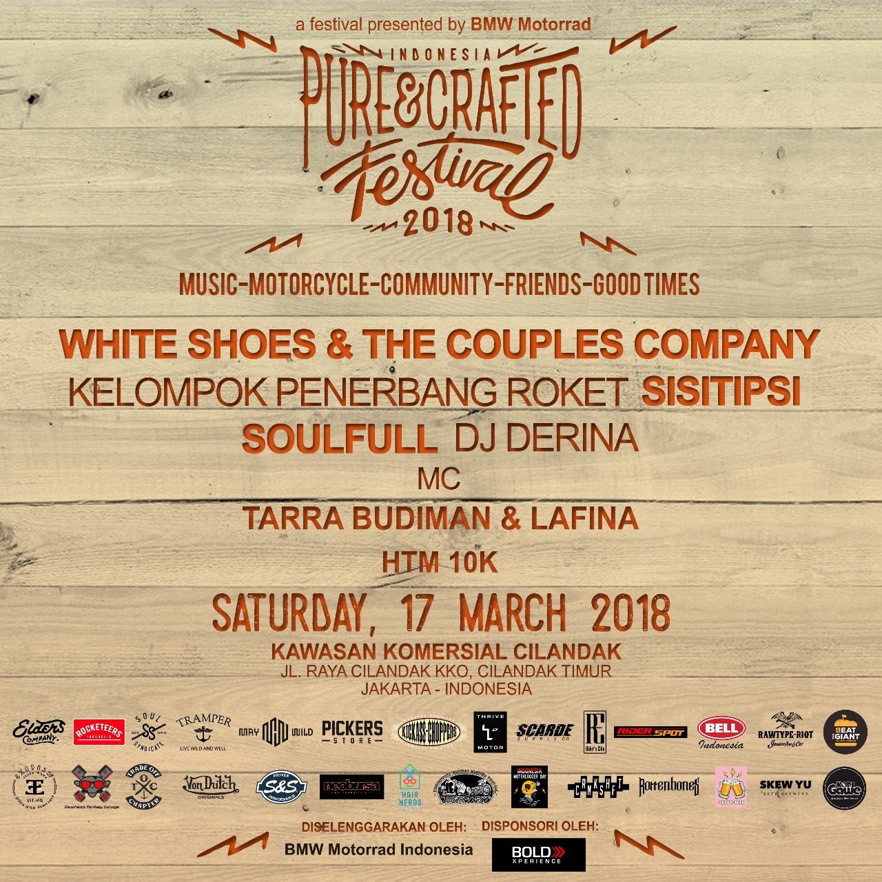 Indonesia Pure & Crafted Festival 2018
