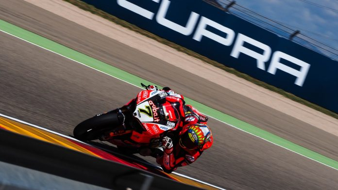 Race 2 WorldSBK 2018 Aragon