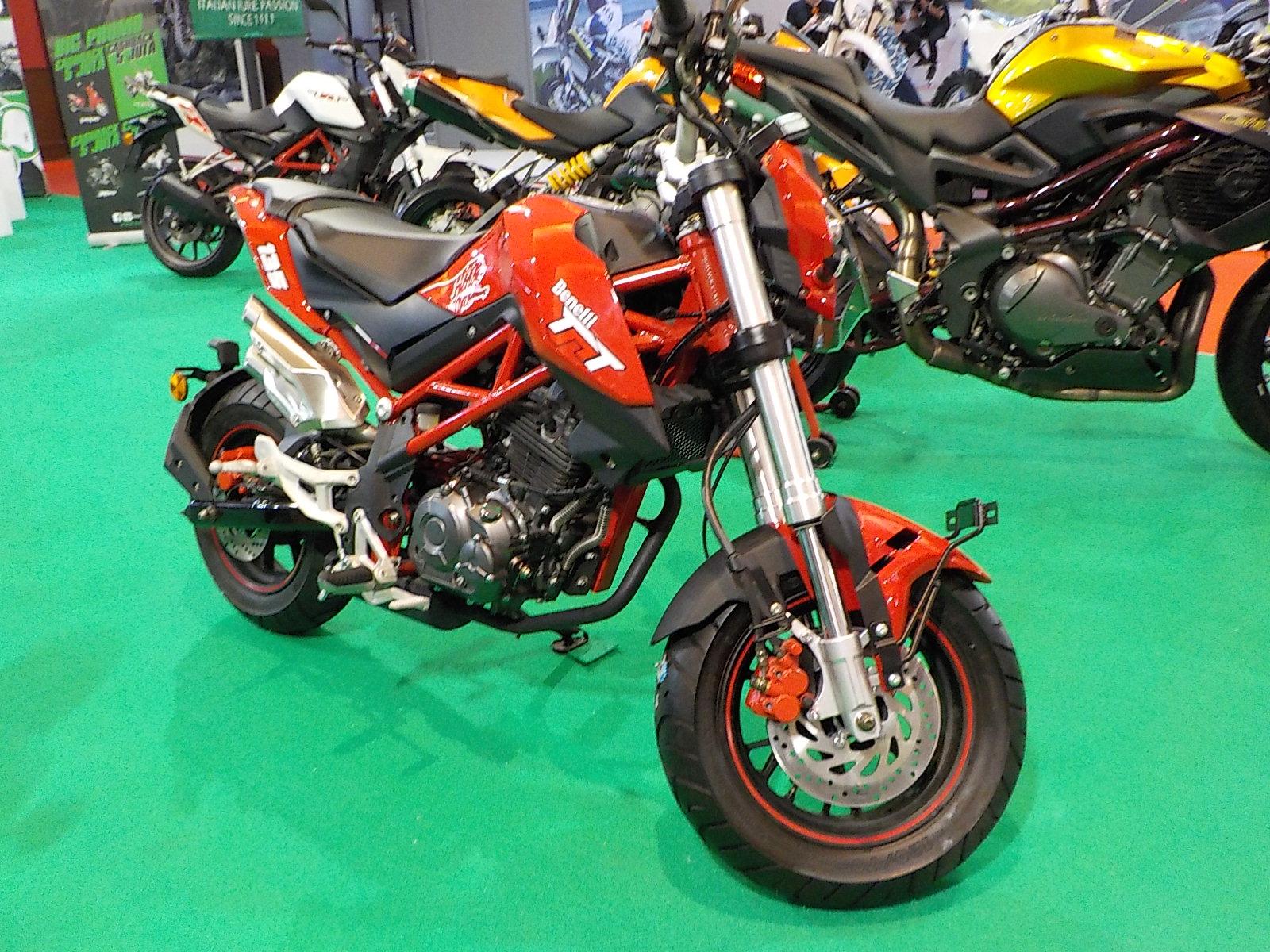 Benelli TnT135 dan Motobi Patagonian 250