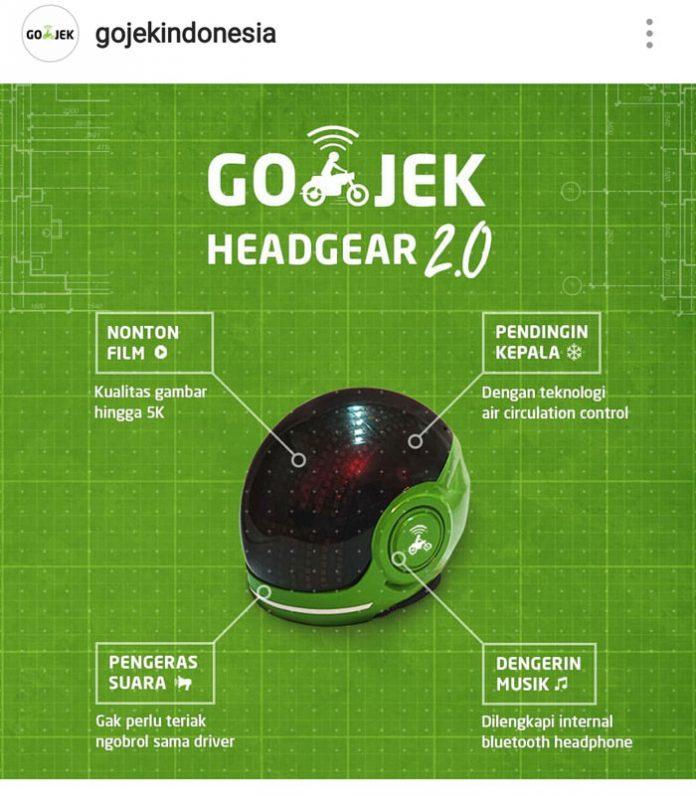 Helm Cerdas Headgear