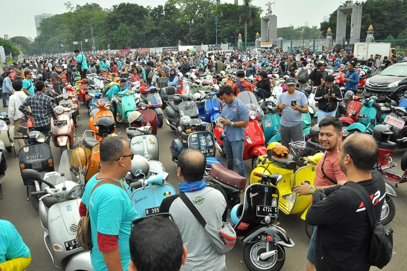 Indonesia Vespa Days 2018