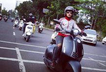 Lady Scooter Asal Malaysia