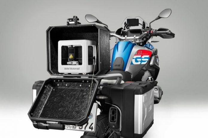 BMW Motorrad iPart 3D Mobile Printer