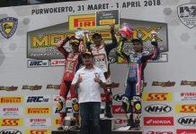 Fitriansyah Kete di Kejurnas Pirelli Motoprix Purwokerto