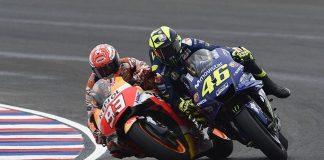 Marquez Salahkan Trek Basah