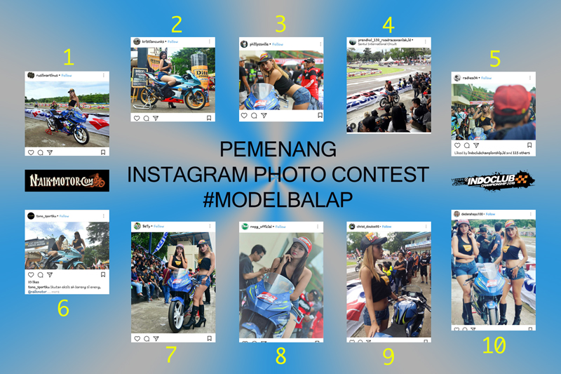 Instagram Photo Contest Model Balap Indoclub