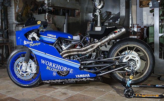 Yamaha Yard Built XSR700 Dragster