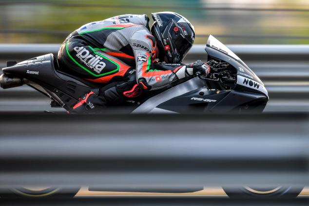 Aprilia RS-GP akan Menggunakan Swingarm Carbon