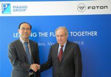 Piaggio Group akan Membuat Pikup